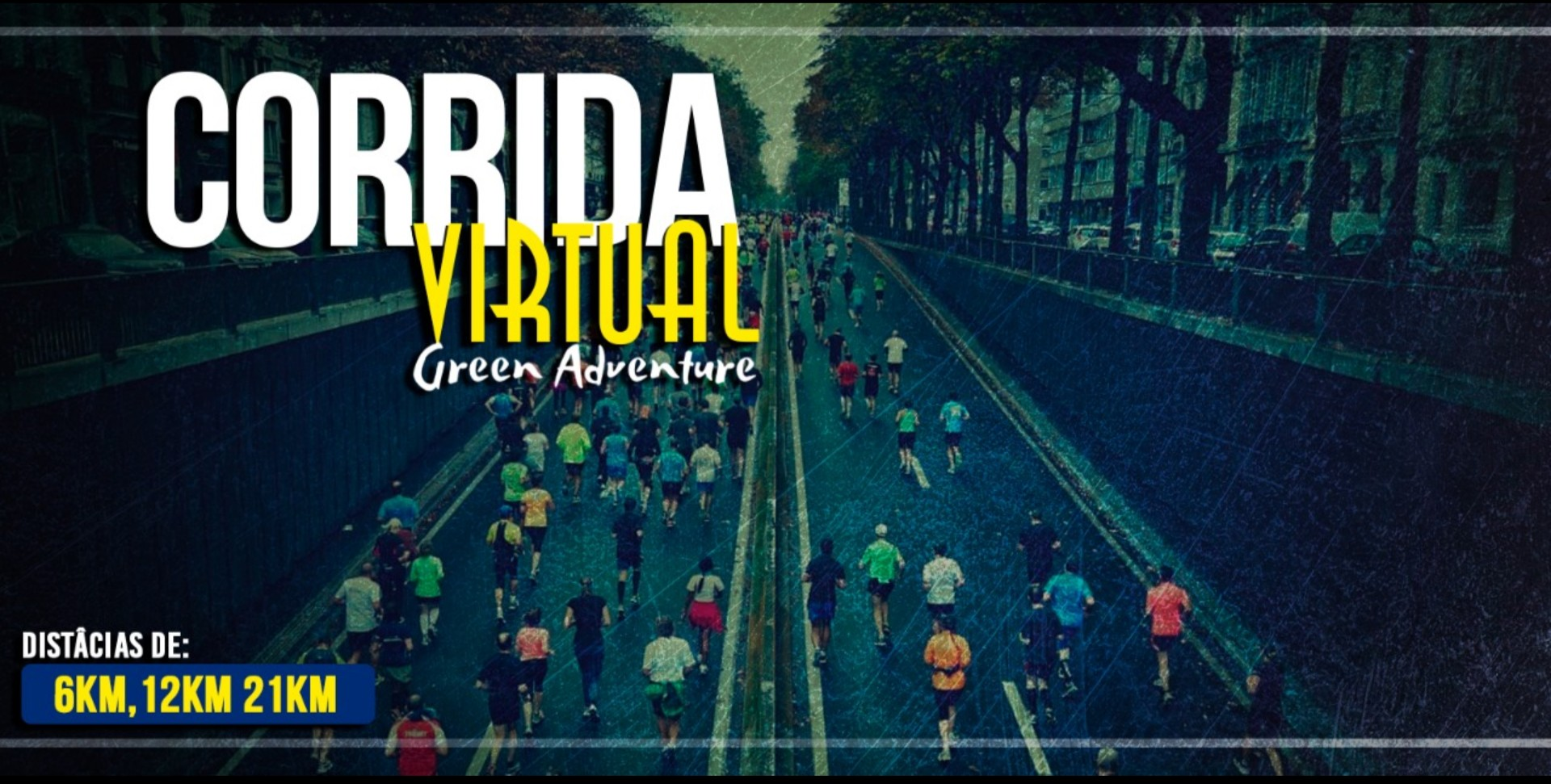 Corrida Virtual Green Adventure